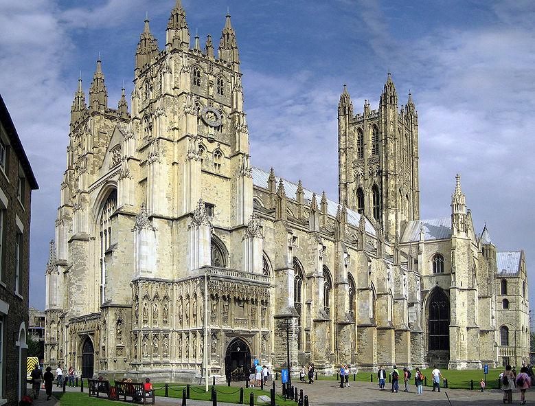 De Kathedraal van Canterbury (The Cathedral and Metropolitical Church of Christ at Canterbury) is de beroemdste kathedraal van Engeland en de zetel van de aartsbisschop van Canterbury, het hoofd van de Anglicaanse Kerk.
